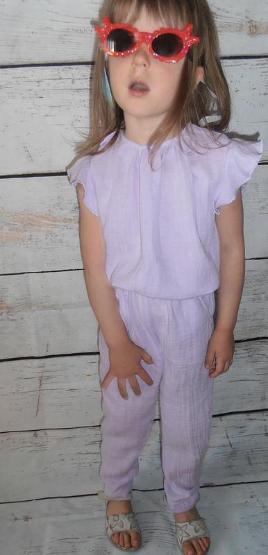 Детский комбинезон издвойного муслина от AnnaFromLatvia