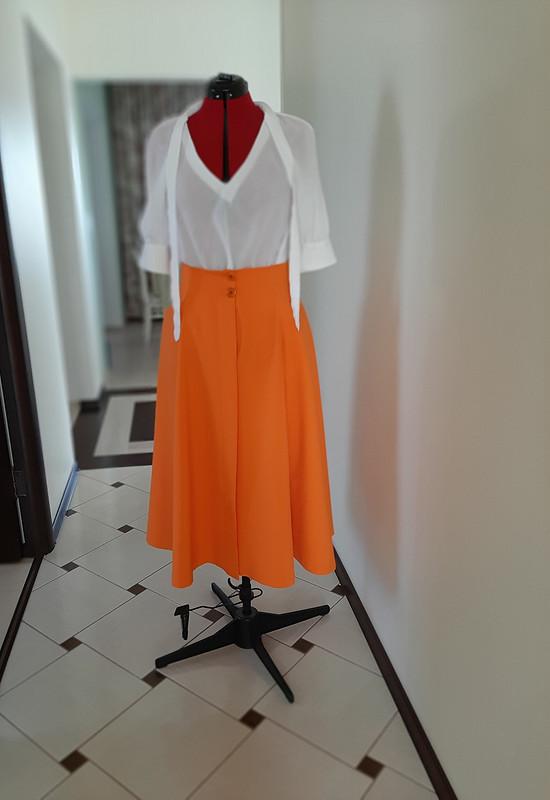 Юбка «Оранжевое настроение» от Vassilissa