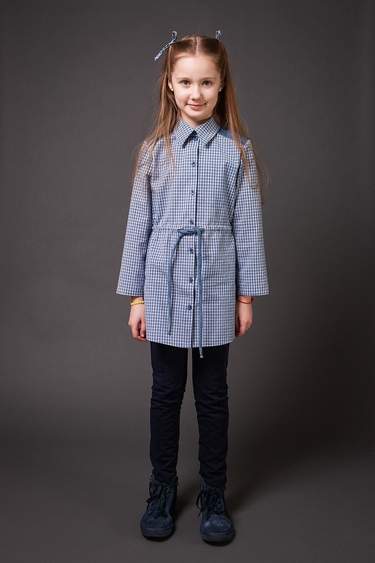 Туника изпапиной рубашки от Irinka