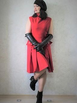 Работа с названием Жакет-мундир и платье military