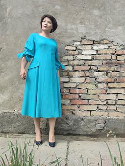 Работа с названием Пробник-макет или платье как платье?