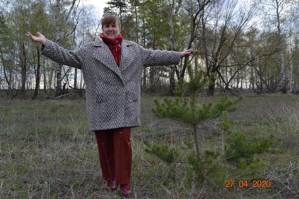 Пальто, сшитое изтого, что было в«хомячьих запасах»