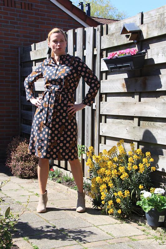 Платье А-силуэта от Jouliko