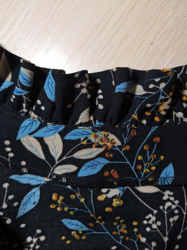 Платье соборками
