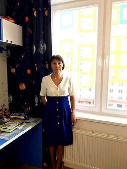 Работа с названием Платье  модель 901 Burda 1/1996