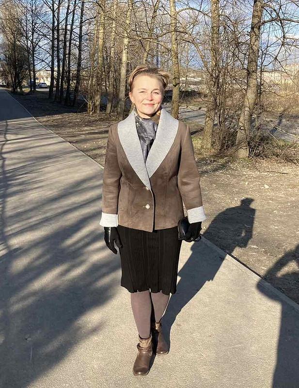 Весенний жакет изнеопрена от Светлана Перминова