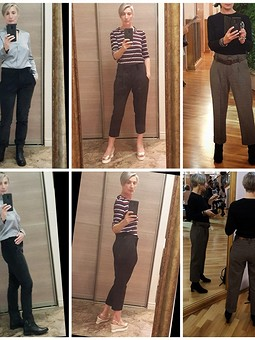 Работа с названием Моделирование брюк