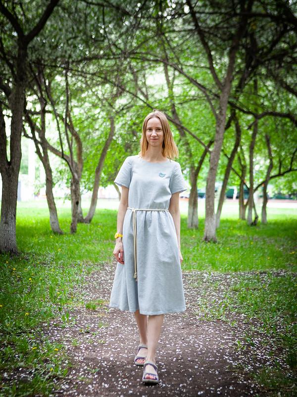 Льняное платье от Irinka