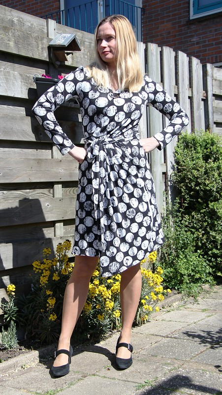 Платье сзапахом от Jouliko