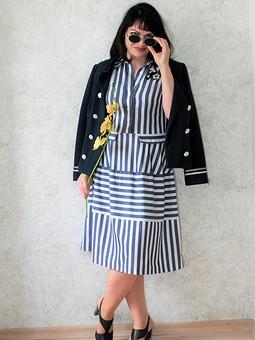 Работа с названием Платье-рубашка вдохновение от Christian Dior