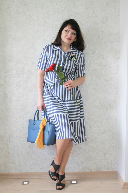 Платье-рубашка вдохновение отChristian Dior