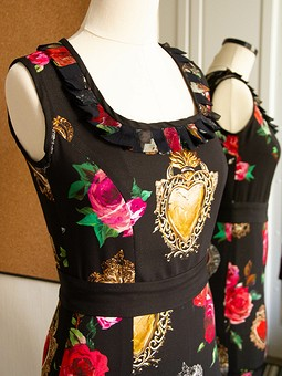 Работа с названием Платье в стиле D&G