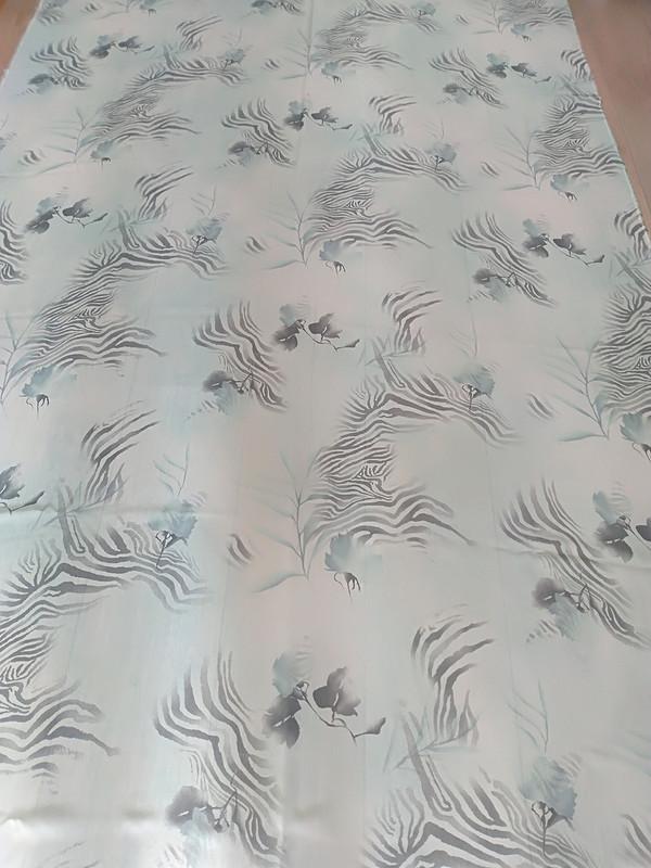 Платье своланами изБурда экстра от Jouliko
