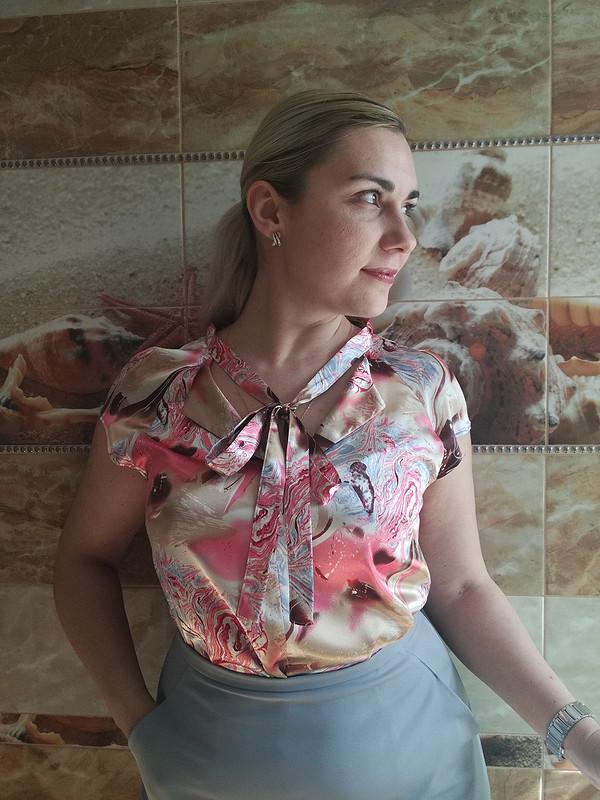 Блузка изнадоевшей юбки