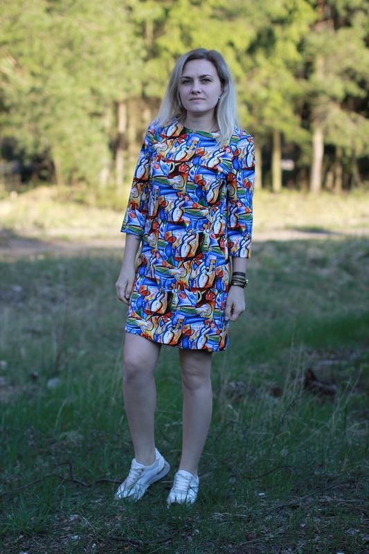 Смелое платье от Эля Лапшина
