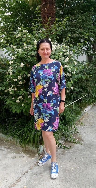 Платье изшелка от lady_olya