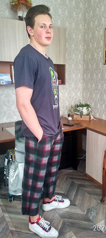 Мужские брюки, или Супер клетка длясына