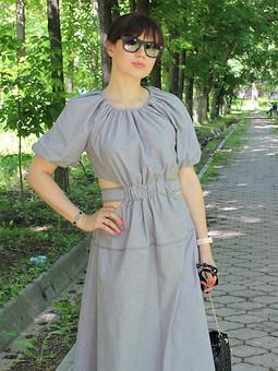 Работа с названием Платье по мотивам aje