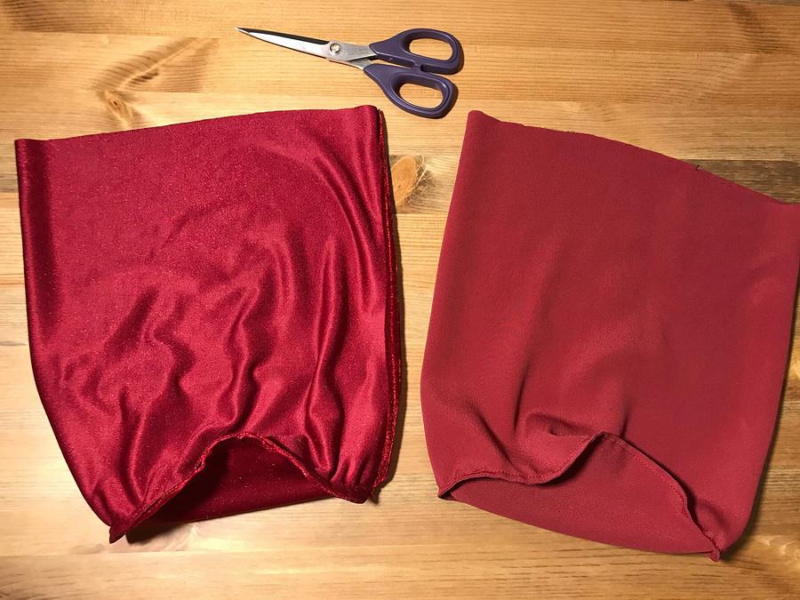 Остатки сладки: мешочек дляфена изшёлкового бархата