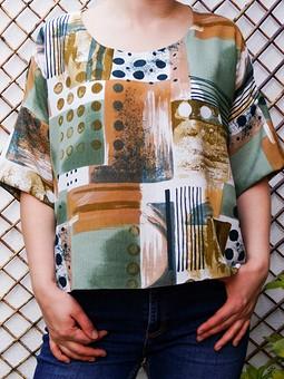 Работа с названием Летне-весенняя блузка