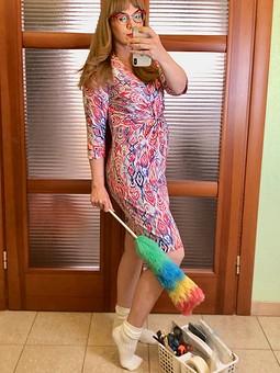 Работа с названием Платье 118 3/2020 трикотаж (Домашнее)