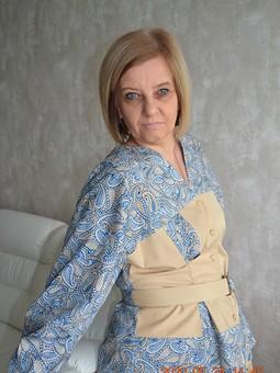 Работа с названием Майская блуза