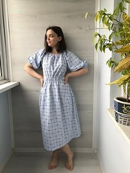 Работа с названием Платье в тренде этого лета