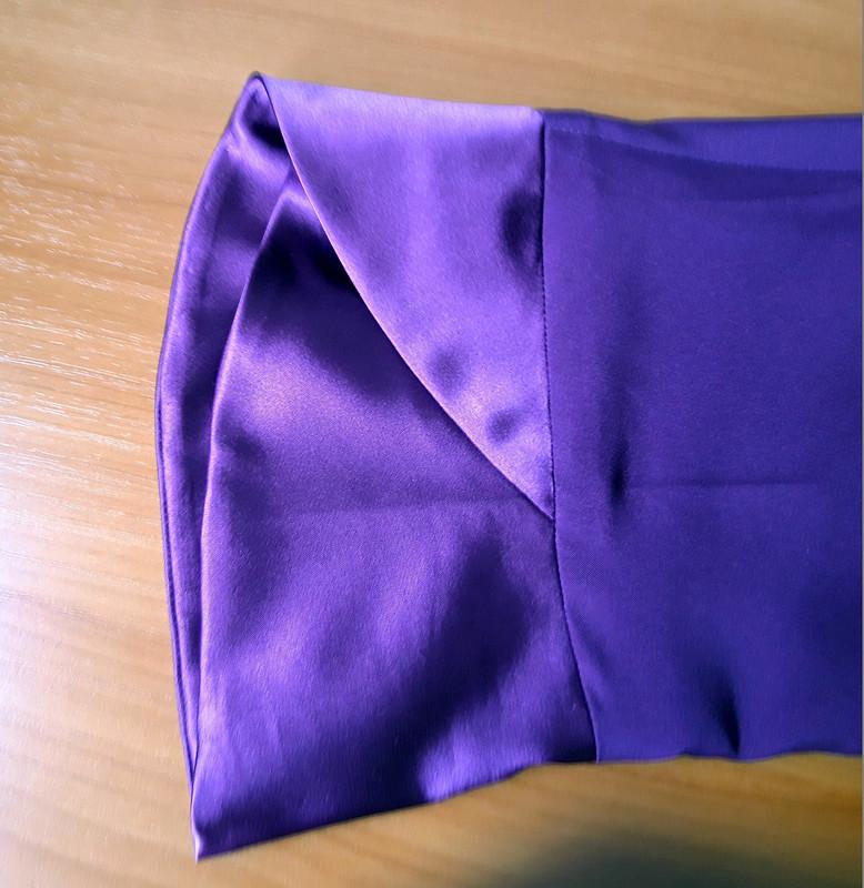 Блузка цвета сирени