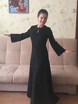 Работа с названием Тёплое, удобное, симпатичное платье