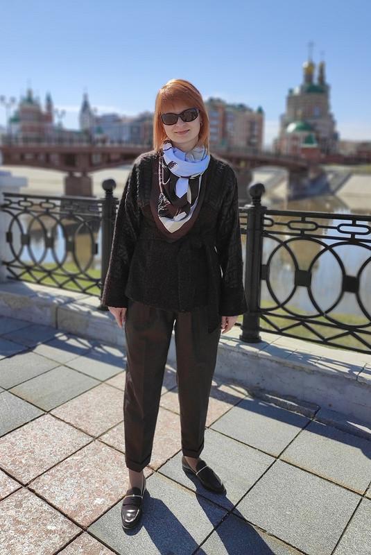 Жакет ибрюки