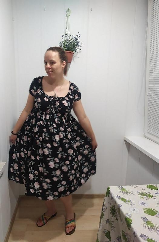 Платье встиле ампир