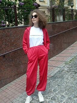 Работа с названием Спортивный костюм: блузон и брюки
