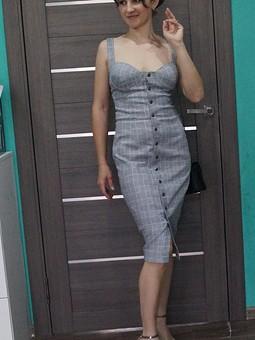 Работа с названием Платье бюстье