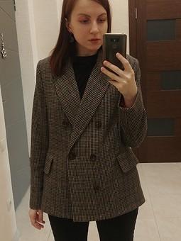 Работа с названием Теплый пиджак