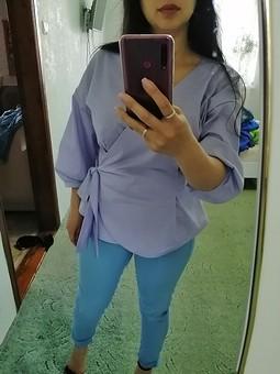 Работа с названием Рубашка-кимоно