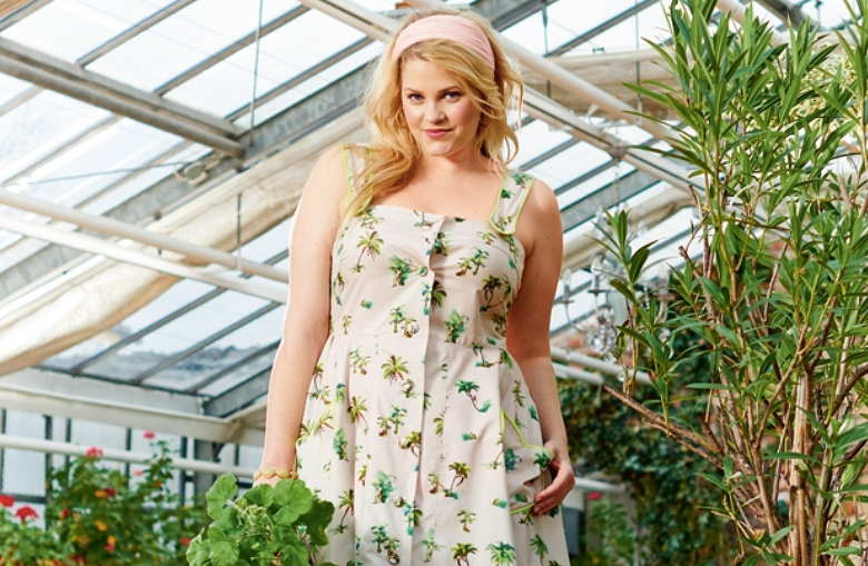 15 стильных летних платьев дляполных отBurda