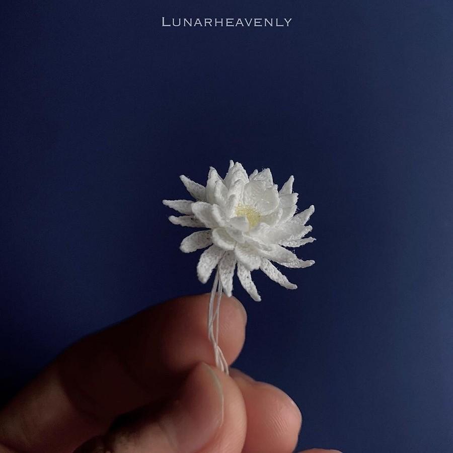 Волшебныецветочные украшения, связанные крючком: рукодельный instagram недели