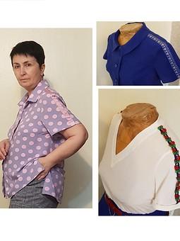 Работа с названием Рубашка и футболки