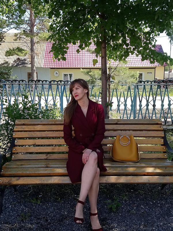 Платье-жакет «Деловая вишня» от Ольга Z