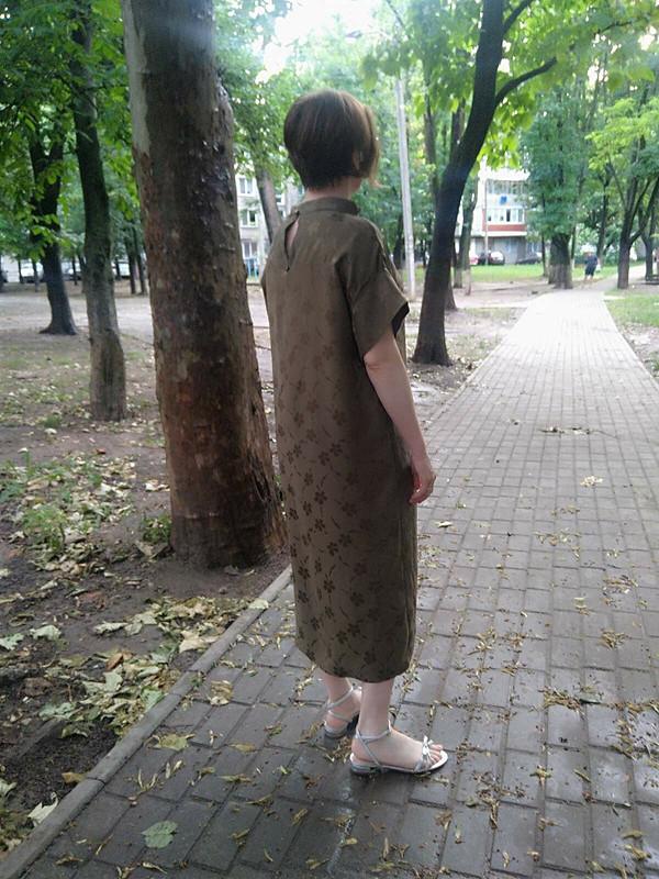 Платье изчистого шелка от arle9