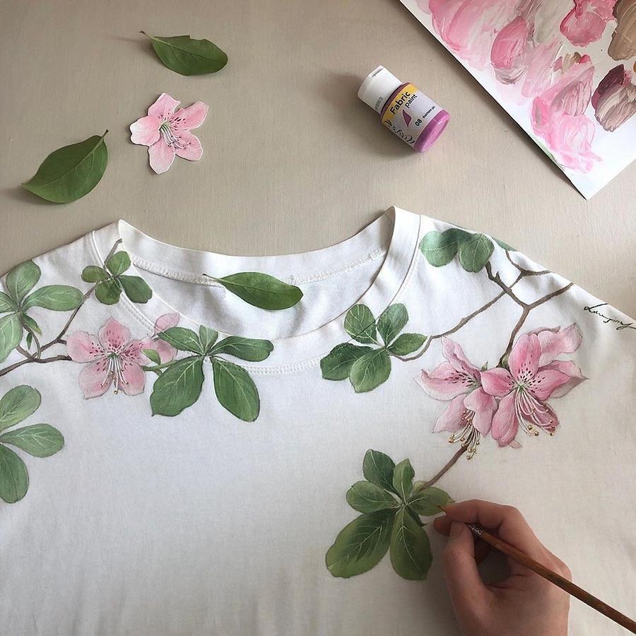 Буйство цветов, рождённых тонкими мазками кисти: рукодельный instagram недели