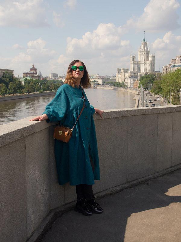 Платье-пальто «Мой первый Бохо»
