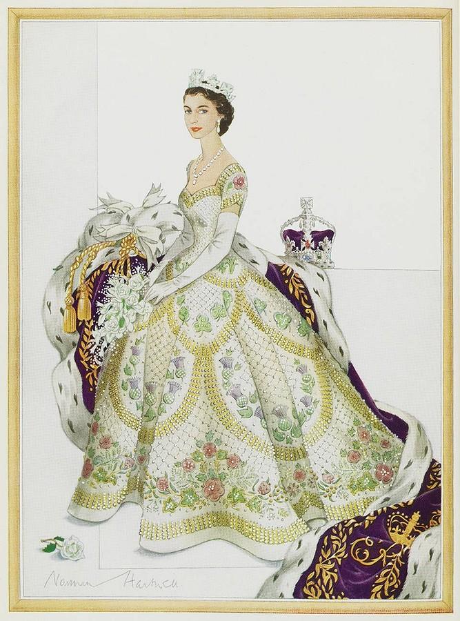 Новое платье королевы: как создавался коронационный наряд Елизаветы II