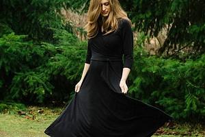 Всё началось с того, что будущий муж сшил мне платье: швейный instagram недели