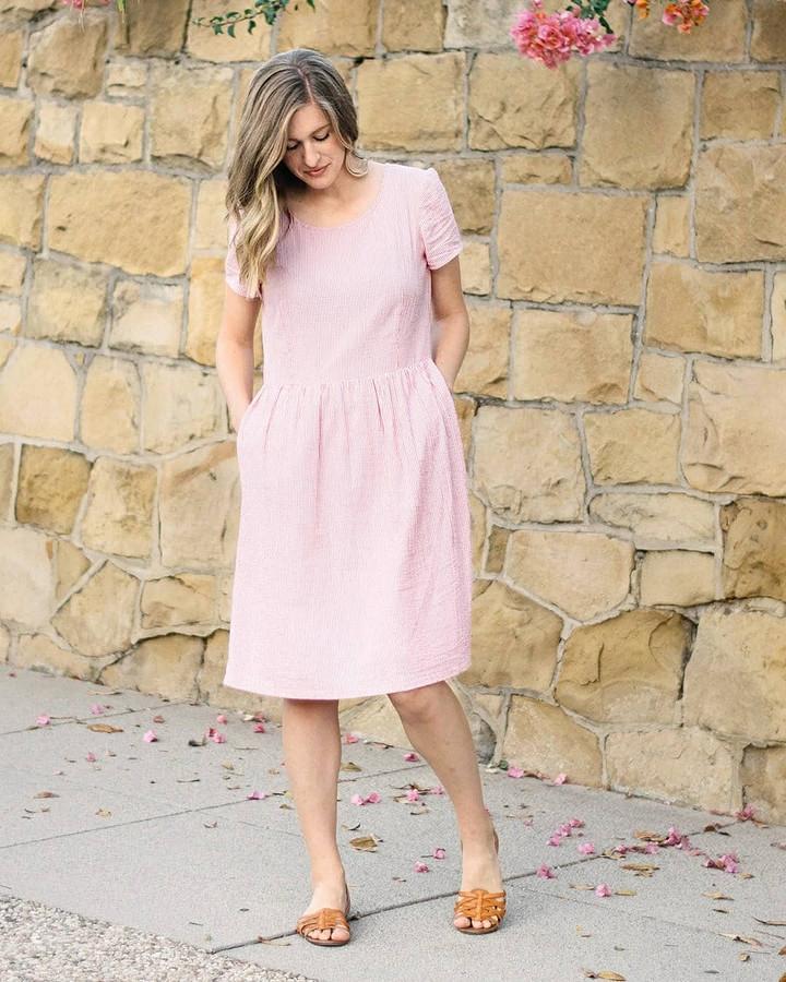 Всё началось стого, что будущий муж сшил мне платье: швейный instagram недели