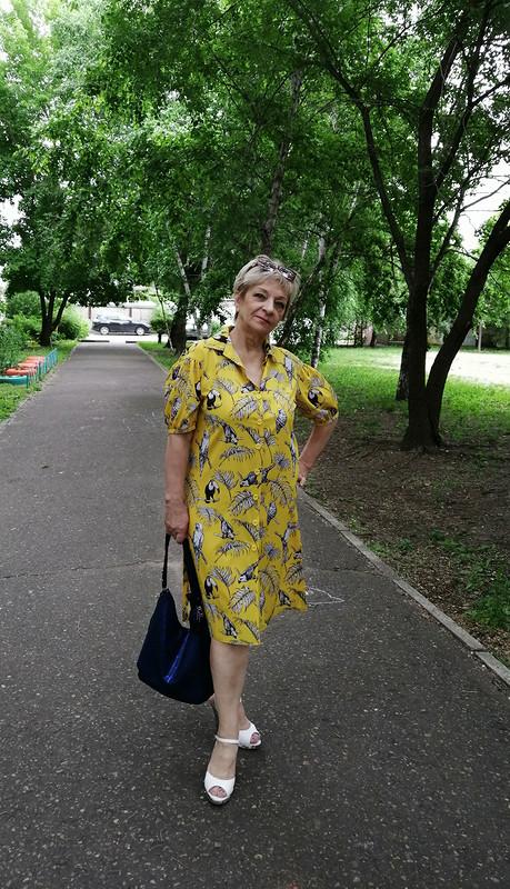 Платье «Птичий рай»