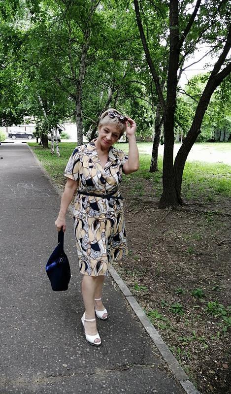 Платье «Модные ремни»