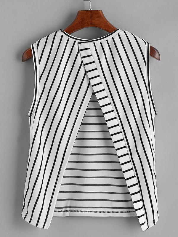 Четвёртая блузка-топ поэтой выкройке