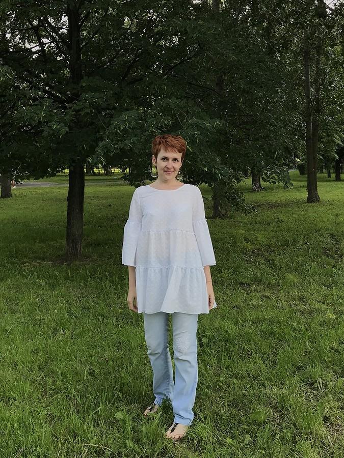 Свободное платье сзавышенной талией: обзор выкройки 6401 изкаталога Burda