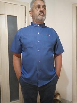 Работа с названием Рубашка на скорую руку